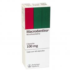 MACRODANTINA 100 MG C/40 CAPS