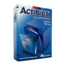 ACTINIUM 600 MG C/20 TABS