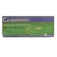 CORPOTASIN CL C/50 TABS EFERV