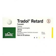 TRADOL RETARD 100 MG C/30 TABS