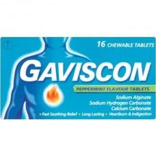 GAVISCON MENTA C/16 TABS MAST