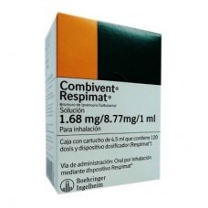 COMBIVENT RESPIMAT 1.68MG/8.77MG/1 ML CCHO