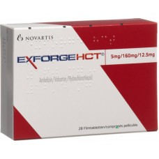 EXFORGE HCT 5/160/12.5 MG C/28 TABS