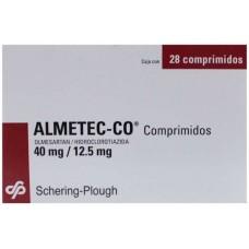 ALMETEC-CO 40 MG/12.5 MG C/28 COMP