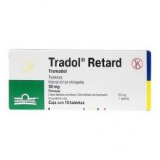 TRADOL RETARD 50 MG C/10 TABS