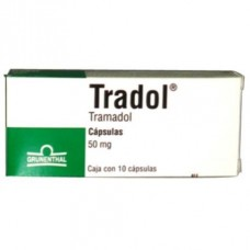 TRADOL 50 MG C/10 CAPS