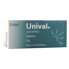 UNIVAL 1 GR C/40 TABS