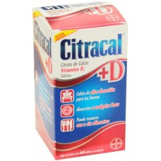 CITRACAL + D  C/60 TABS