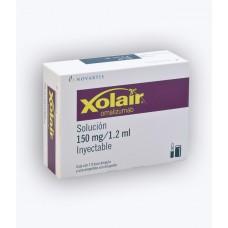 XOLAIR 150 MG/1.2 ML C/1 VIAL AMP