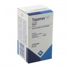 TOPAMAX 25 MG C/20 TABS