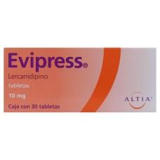 EVIPRESS 10 MG C/30 TABS