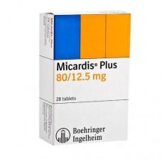 MICARDIS PLUS 80 MG/12.5 MG C/28 TABS