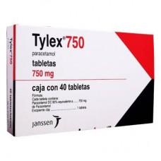 TYLEX 750 MG C/40 TABS
