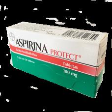 ASPIRINA PROTEC 100 MG C/28 TABLETAS