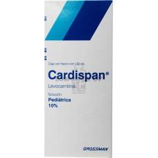 CARDISPAN SOL PED 10% C/120 ML