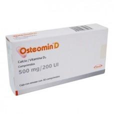 OSTEOMIN D 500 MG/200 UI C/30 COMP
