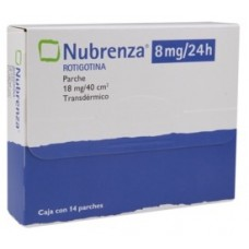 NUBRENZA 8 MG C/14 PCHE