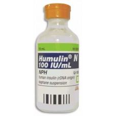 HUMULIN R FCO AMP C/10 ML 100 UI/ML