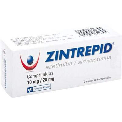 ZINTREPID 10/20 MG C/28 COMP