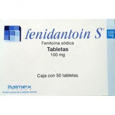 FENIDANTOIN S 100 MG C/50 TABS