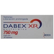 DABEX XR 750 MG C/30 TABS