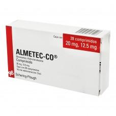 ALMETEC-CO 20 MG/12.5 MG C/28 COMP