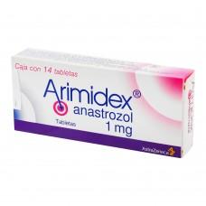 ARIMIDEX 1 MG C/14 TABS