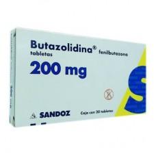 BUTAZOLIDINA 200 MG C/20 TABS
