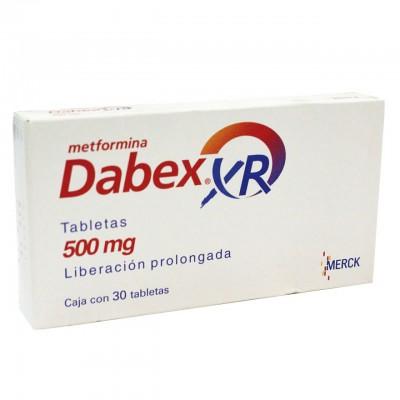 DABEX XR 500 MG C/30 TABS