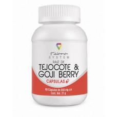 Tejocote & Goji Berry C/60 Capsulas